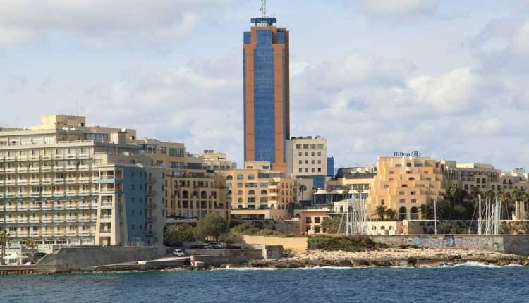 Portomaso Business Tower in Malta