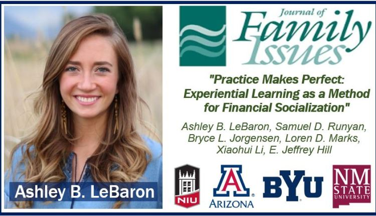 Preparing kids financially image with Ashley LeBaron