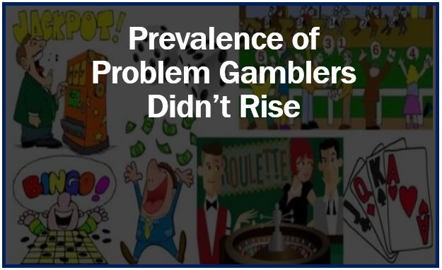 Prevalence of problem gamblers did not rise