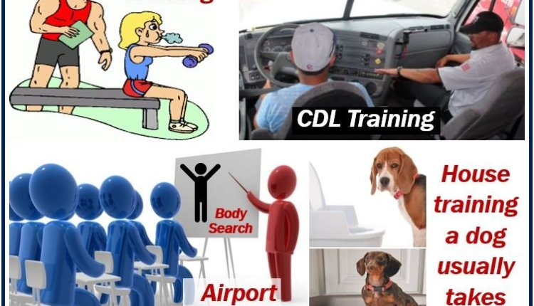 Training – examples