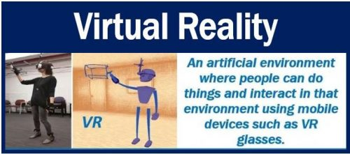 Virtual reality - definition and example