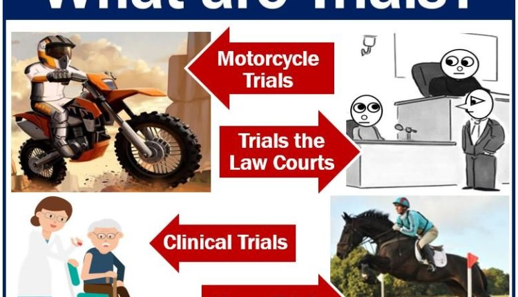 Definition and examples of trials