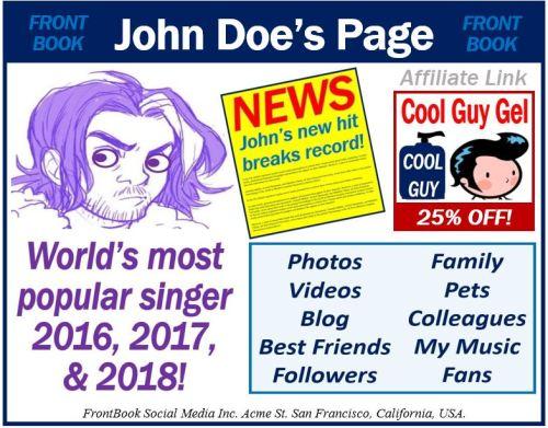 Disclosures of affiliate marketing on social media