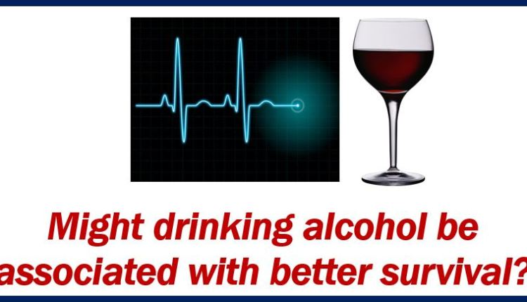 Drinking alcohol after heart failure