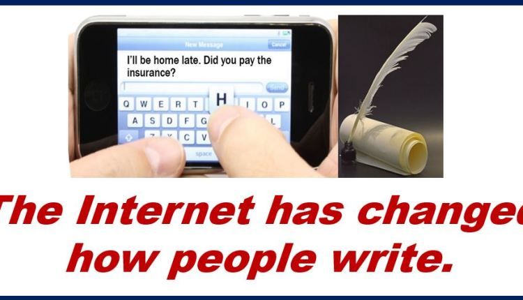 How people write since Internet arrived – thumbnail