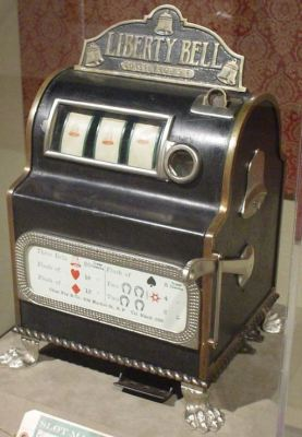Liberty Bell slot machine - gambling article