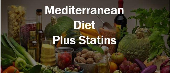 Mediterranean diet plus statins thumbnail