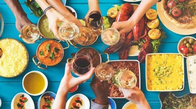 Negotiating tactic – sharing same dishes