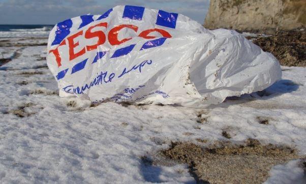 Plastic carrier bag 2 – beach thumbnail