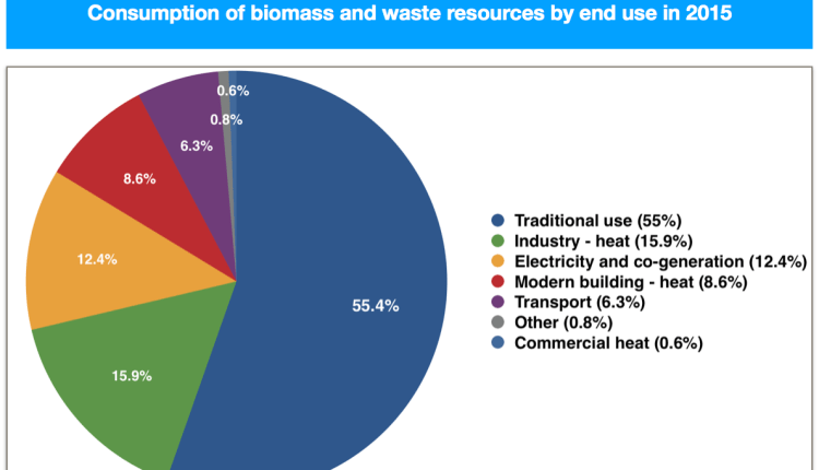 CONSUMPTION OF BIOMASS 2015