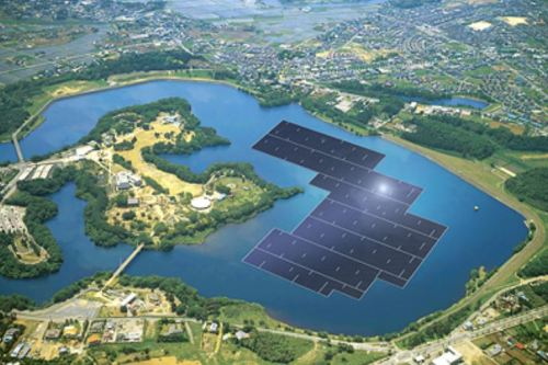 Largest floating PV site in the world - Japan