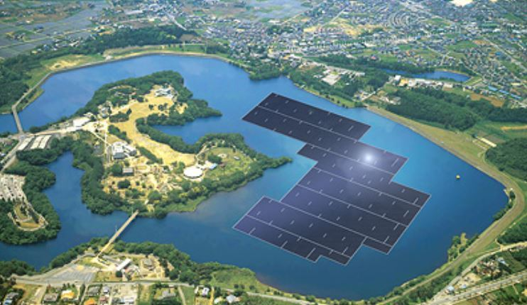 Largest floating PV site in the world – Japan