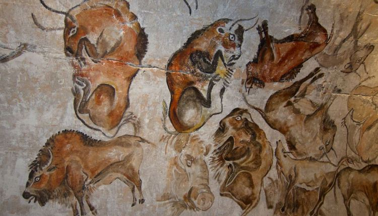 Writing styles article – cave wall painting in Spain