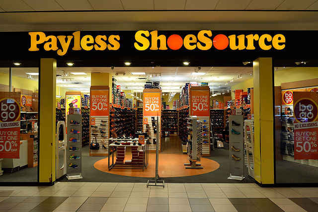 Payless ShoeSource closing all of its 2
