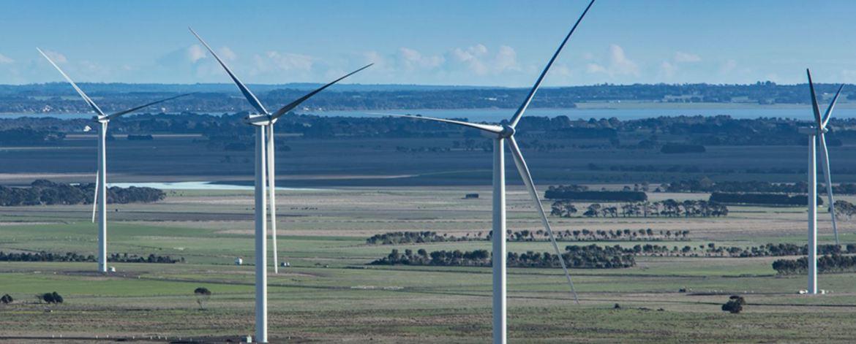 Acciona Mt Gellibrand wind farm