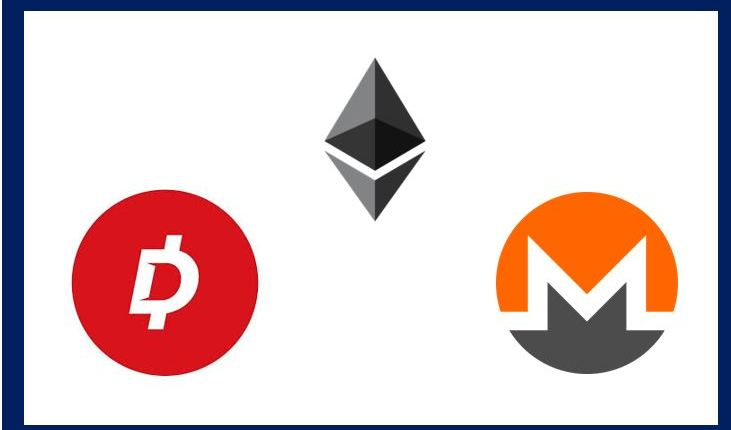 Cryptocurrency article about 3 coins – thumbnail