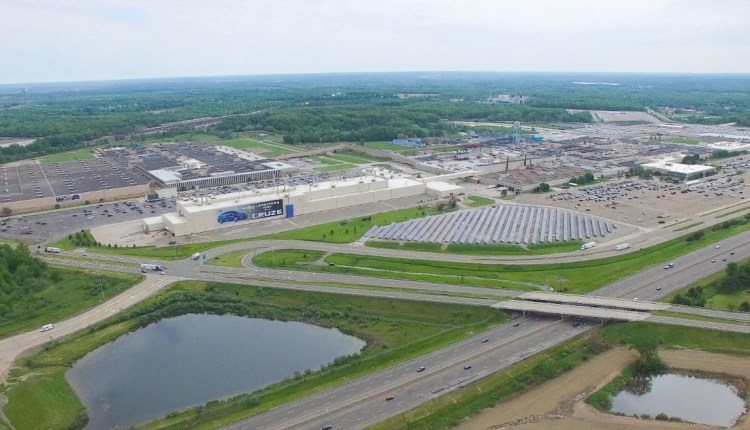 Lordstown (OH) Assembly Plant – Aerial View (2017)