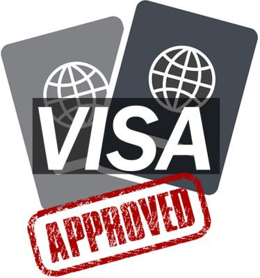 Visa approved without going to embassy - image 444444