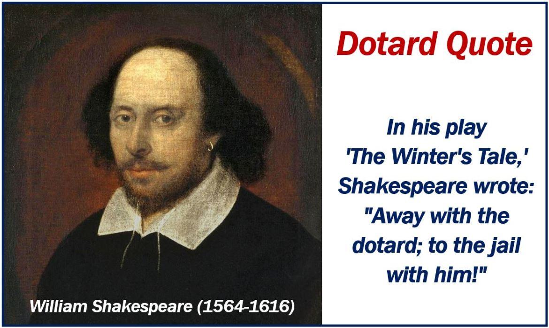 Shakespeare dotard quote image 555555
