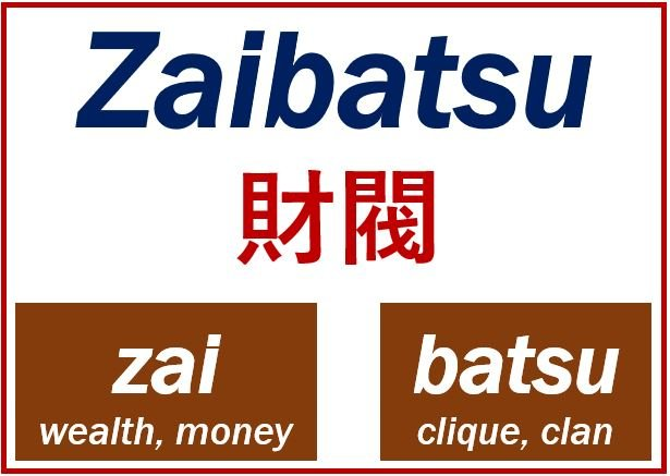 Zaibatsu meaning image 555