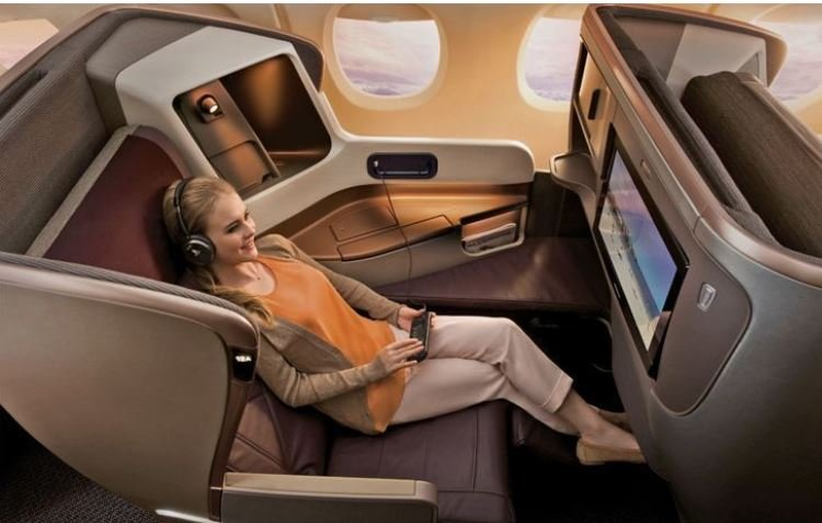 Business Class airlines to Asia image 893839398