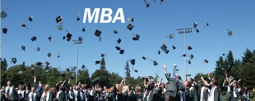 MBA graduates or train from within image