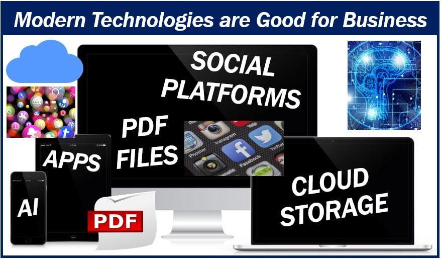 Modern technologies good for business 333