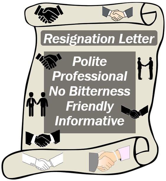 Resignation letter tips image 44444