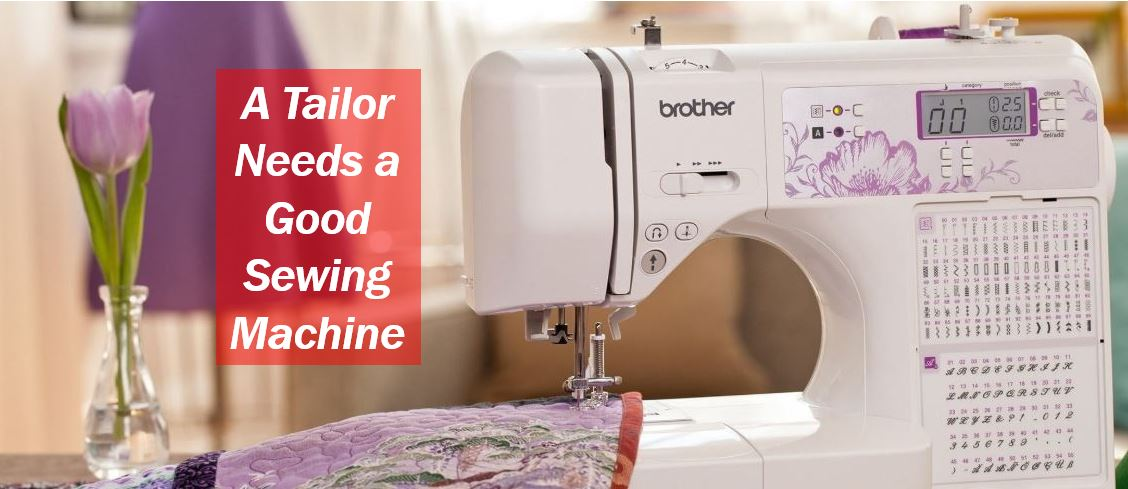 Home tailoring business sewing machine image 454444