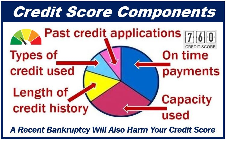 Credit Score - file for bankruptcy - 3999