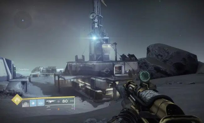 How to find the Lunar Battlegrounds in Captive Cord Destiny 2?