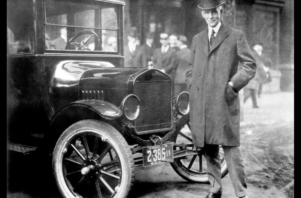 Looking Back to Henry Ford and Ahead to Lean Startups