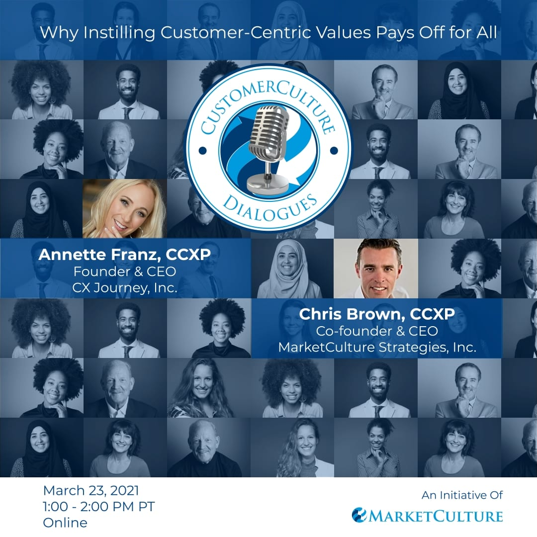 Customer-centric values