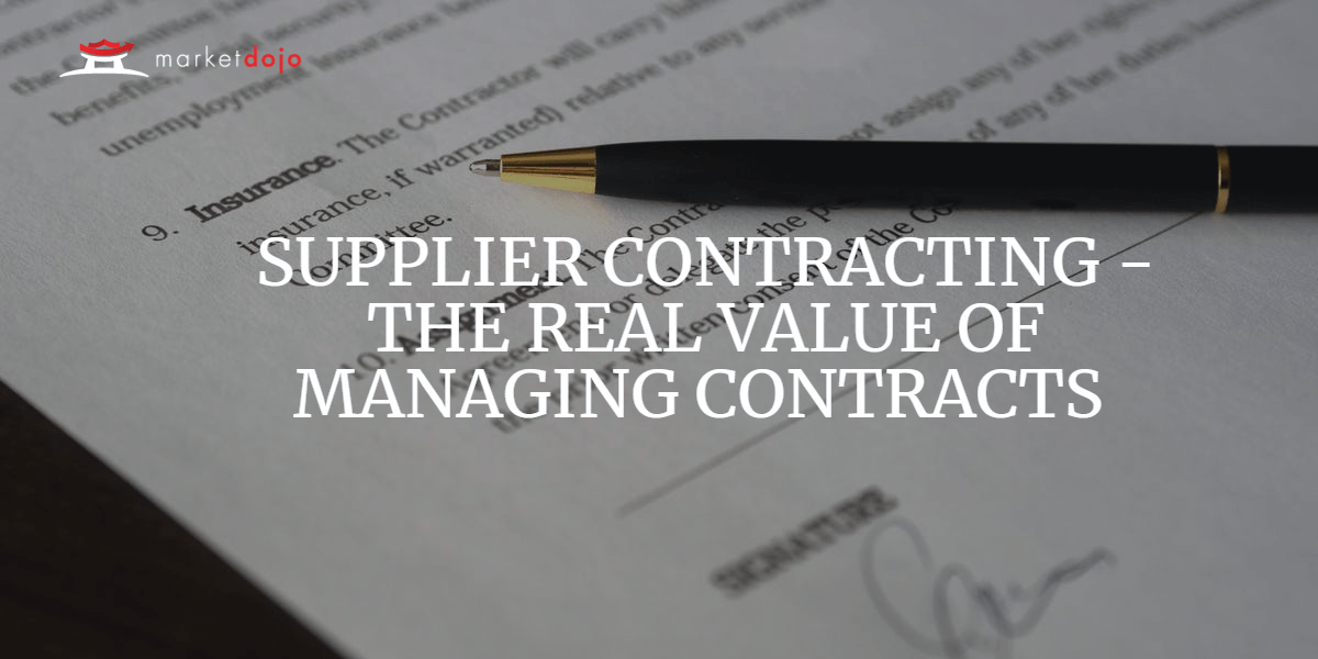 How to utilise Contract Management