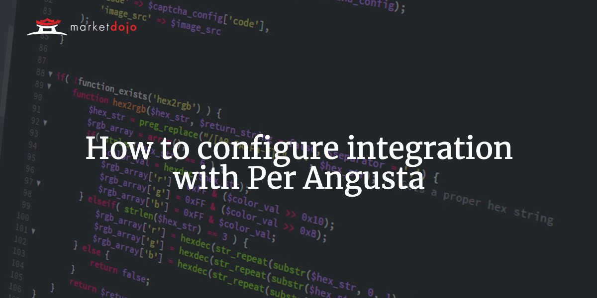 How to configure integration with Per Angusta