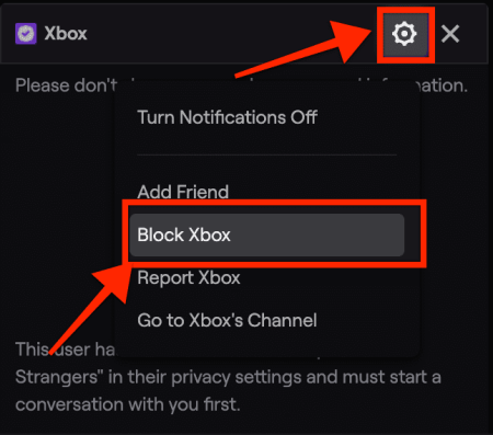 how to ban someone on twitch