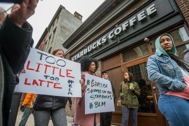 Starbuck Protest