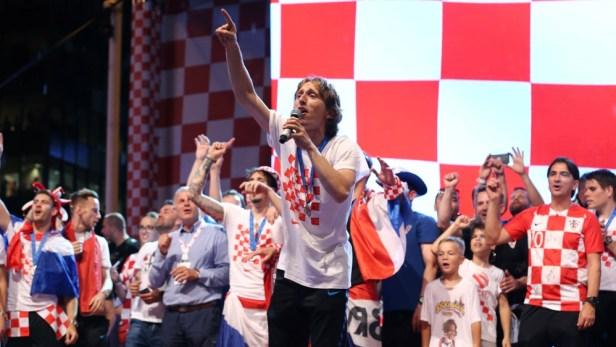 โครเอเชีย Modric