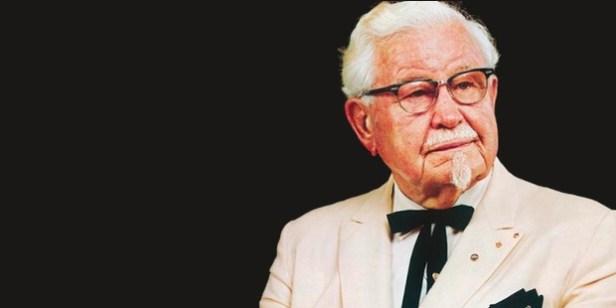 ความสำเร็จยิ่งใหญ่ Sanders KFC