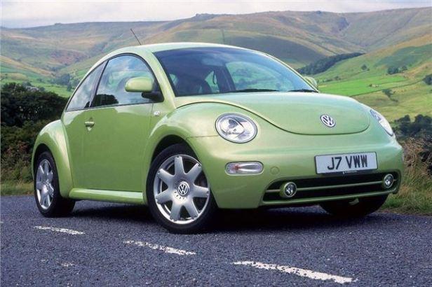 """""""รถเต่า"""" New Beetle 98"""