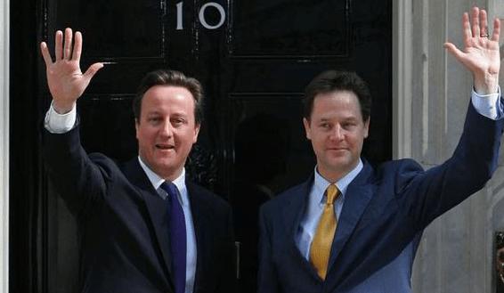 Nick Clegg Cameron