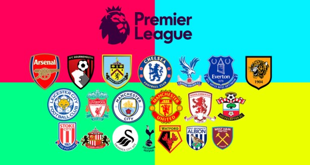 Dinnage Premier League Teams