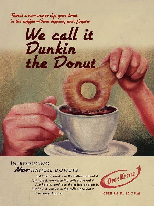 Dunkin; Poster