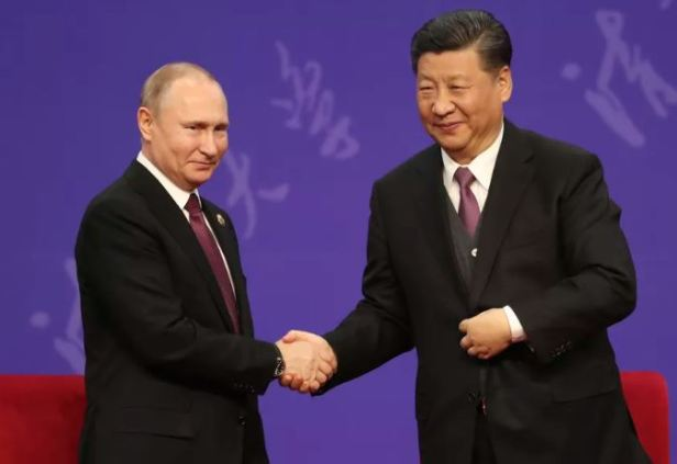 Putin XI Huawei
