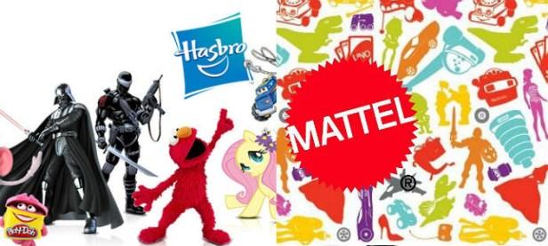 Hasbro Mattel Bandai Namco