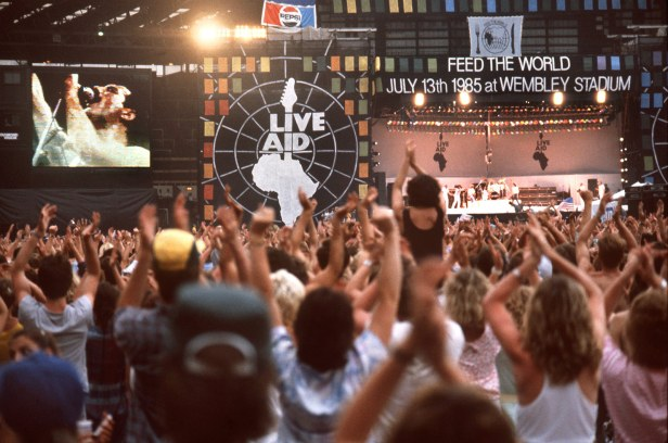 Live Aid Stage