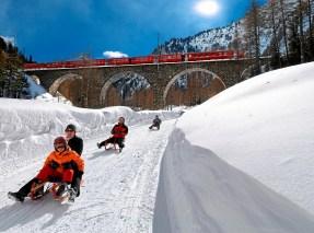 Swiss Travel System: Rhaetische Bahn