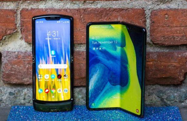 Moto Razr Samsung