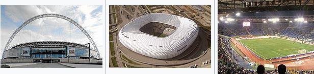 Euro 2020. Stadiums Event