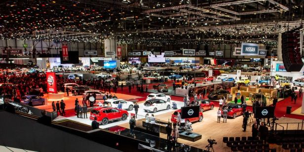 Geneva Motor show Netflix